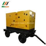 30kw stille Diesel van de Aanhangwagen van het Type van Luifel Mobiele Generator