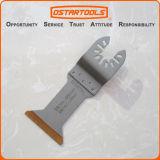 metal extralargo Titanium bimetálico de 45m m (1-3/4 '') y hoja de sierra oscilante de madera