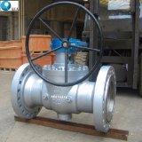 Китай Литые стальные кованая сталь цапфы с верхним входом шаровой клапан установлен на заводе с низкой цене