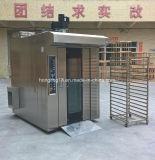 パン屋装置の32皿販売のためのディーゼル回転式ラックオーブン