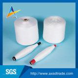Filato bianco grezzo del poliestere filato anello grezzo per il filato cucirino 40/2
