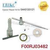 Der Erikc Düsen-Dlla142p1709 geläufiger Motorüberholung-Installationssatz Schienen-Einspritzdüse-Reparatur-der Installationssatz-F00rj03482 (F 00R J03 482) für Cummins 0445120121