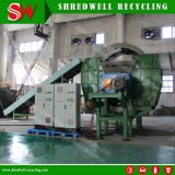 Automatique de machines de recyclage des pneus utilisés pour les déchets de déchiquetage des pneus