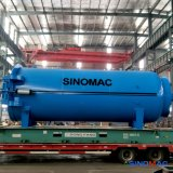 vulcanizador lleno directo del caucho de la automatización de la calefacción de vapor de 2800X8000m m
