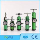 Yf-Cga870PT Klicken-Art-Sauerstoff-Strömungsmesser mit unterschiedlichem medizinischem Gas-Adapter