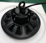 Nave industrial de la luz LED regulable OVNI 120 grado alto de la luz de la bahía