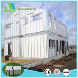 China New-Type Casa Prefabricadas Ambiental do Painel da Parede do tipo sanduíche