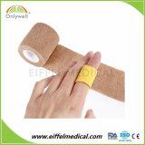 Bandage auto-adhésif non-tissé élastique remplaçable de sport