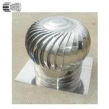 Acero inoxidable #201/304 ningún ventilador de la azotea del aire de Turbo del mecanismo impulsor del viento de la potencia