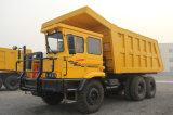 Autocarro con cassone ribaltabile rigido militare di estrazione mineraria di qualità 100t