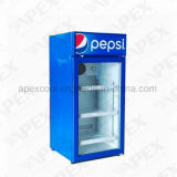Desktop Mini Fridge for Drink Counter Signal Cooler with This, CB