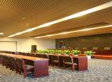 Guangzhou fabrication 30x200mm en aluminium look plafond suspendu du déflecteur du bois pour la conception