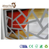 Cerca de aluminio modificada para requisitos particulares del compuesto del marco WPC del diseño especial