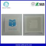 Etiqueta engomada de papel de la impresión 13.56MHz RFID NFC de la insignia con el pegamento de los 3m