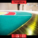2017 Novo Estilo Personalizado dedicado de Macau Casino Poker mesa com 8 Player para o jogo (YM-BA10)