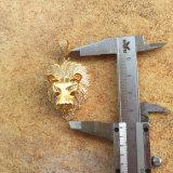 Les hommes simples ont glacé à l'extérieur le modèle pendant Mjhp096 de tête de lion d'or