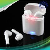 I7 de música inalámbrico Bluetooth auriculares intrauditivos auriculares con micrófono para iPhone Samsung