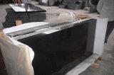 Partie supérieure du comptoir de granit de Hebei de première porcelaine de classe/décoration noires de mur