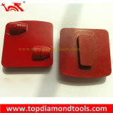 Diamant-Paralleltrapez-reibender Schuh für konkreten Fußboden