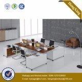 Divisorio di legno L stazione di lavoro del personale di figura (HX-TN1962) dell'ufficio
