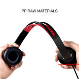 A través de cable ajustable ligero auricular plegable para Celular Iphonex iPad reproductor de música