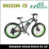 Heißes Verkaufs-Cer E-Fahrrad orange Gebirgsfahrrad-Gummireifen