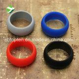 Красочные силиконового герметика свадебные кольца для занятий спортом