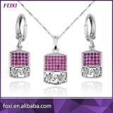 Fashion Design de luxe de l'environnement Zircon cubique Mode bijoux fixe