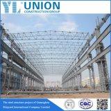 Estrutura de aço hangares de aeronaves pela Oficina de aço da China Factory