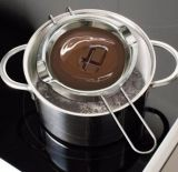 Tazón de fuente de fusión de la calefacción de la hornada del chocolate del acero inoxidable