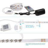 24 Schlüssel-Fernsteuerungs5m/16.4 FT SMD 5050 RGB 300 LED IP20 Farbe IR-, dieled-Streifen-Licht ändert