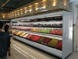 음료 수직 다중 갑판 열려있는 냉각장치를 위한 슈퍼마켓 상업적인 냉장고