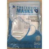 En149: 2001 het StandaardKn95 Masker van het Gezicht van het Stof van het Ademhalingsapparaat Beschikbare Burgerlijke Beschermende Vouwende met de Ademhaling van Klep