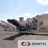 Завод дробилки прилива цилиндра хорошего качества передвижной каменный