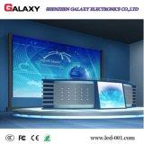 Placa de indicador fixa interna do diodo emissor de luz P1.5625/P1.667/P1.923 do passo pequeno do pixel para o estágio da tevê, monitorando o centro