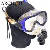 La mini zambullida del equipo de submarinismo enciende la profundidad del submarino el 100m para la máscara del salto