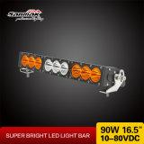90W ambarinos escogen las barras ligeras campo a través de 4X4 LED para el carro