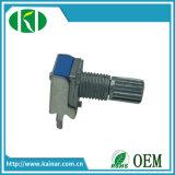 potenziometro rotativo della singola unità di 9mm senza interruttore