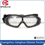 Fábrica por mayor a medida Cebolla Seguridad Negro Gafas de corte Hípica Protección para los ojos de los anteojos