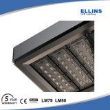 Alta luz de calle al aire libre del lumen 125~130lm/W Adjusttable LED 150W