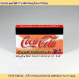 Cartão de PVC pré-impresso com faixa magnética Hico / Loco na cor Preto / Prata / Marrom
