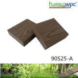 25mm de espesor de revestimientos de fuerte sólido duradero Jardín/cuadrado la pavimentación de WPC