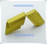 鋼鉄&#160のためのCutoutil Knux160405L11; 炭化物の挿入