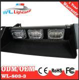 свет строба лобового стекла палубы черточки автомобиля 9W предупреждающий
