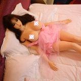 куклы влюбленности евро куклы секса TPE силикона груди 148cm Vagina большой реальной реалистической сексуальной устно заднепроходный