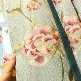 普及したシュニールの花の刺繍の停電の窓カーテン(20F0082)