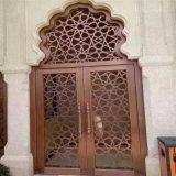 Хорошая конструкция арабского экрана панели металла перегородки трактира