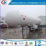 De ASME do padrão 3 dos eixos 60000liters do litro do LPG do petroleiro reboque Semi