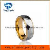 Ring van het Wolfram van de Ring van het Gouden Plateren van de Luxe van de Gerstkorrel van mensen de Enige