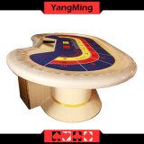 2017 novo projetar a tabela dedicada Baccarat do póquer do casino da qualidade para um uso Ym-Ba08 de 10 jogos do póquer do casino do jogador
